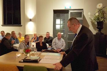 Piet Hamelink geeft lezing